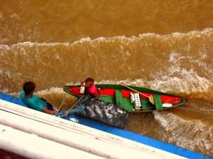 Händler im Amazonas