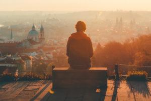 allein sein heißt nicht immer einsam sein