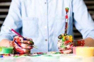 Kreativität hilft bei schlechter Laune